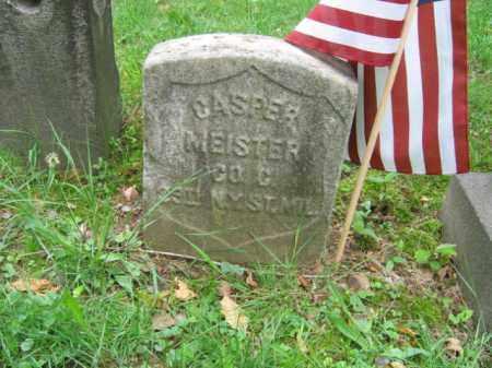 MEISTER, CASPER - Hudson County, New Jersey   CASPER MEISTER - New Jersey Gravestone Photos
