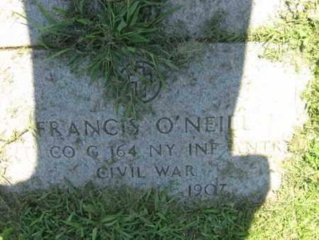 O'NEILL (O'NEIL), FRANCIS - Hudson County, New Jersey | FRANCIS O'NEILL (O'NEIL) - New Jersey Gravestone Photos
