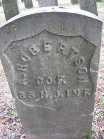 ROBERTSON, AUGUSTUS - Hudson County, New Jersey | AUGUSTUS ROBERTSON - New Jersey Gravestone Photos