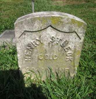 STUECK (STUERZ), HENRY D. - Hudson County, New Jersey | HENRY D. STUECK (STUERZ) - New Jersey Gravestone Photos