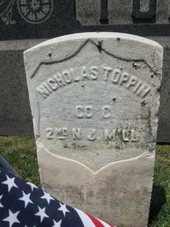 TOPPIN (TOBIN), NICHOLAS - Hudson County, New Jersey   NICHOLAS TOPPIN (TOBIN) - New Jersey Gravestone Photos