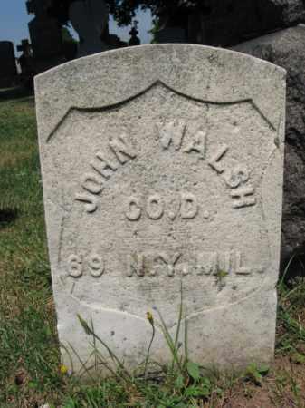 WALSH, JOHN - Hudson County, New Jersey | JOHN WALSH - New Jersey Gravestone Photos
