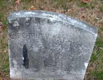 ANDERSON, CYRENIUS V. - Hunterdon County, New Jersey   CYRENIUS V. ANDERSON - New Jersey Gravestone Photos
