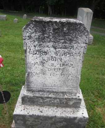 APGAR, GEORGE W. - Hunterdon County, New Jersey | GEORGE W. APGAR - New Jersey Gravestone Photos