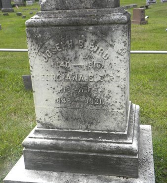BIRD, JOSEPH B. - Hunterdon County, New Jersey | JOSEPH B. BIRD - New Jersey Gravestone Photos