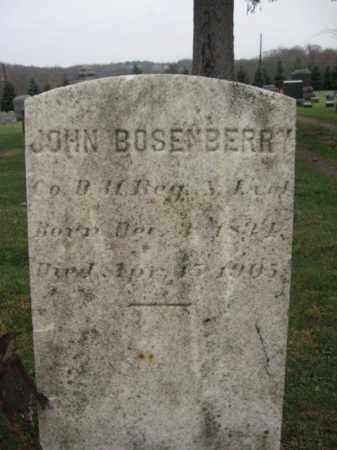 BOSENBERRY, JOHN - Hunterdon County, New Jersey | JOHN BOSENBERRY - New Jersey Gravestone Photos