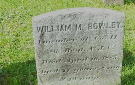 BOWLBY, WILLIAM M. - Hunterdon County, New Jersey | WILLIAM M. BOWLBY - New Jersey Gravestone Photos