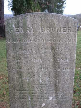 BRUNER, HENRY - Hunterdon County, New Jersey | HENRY BRUNER - New Jersey Gravestone Photos