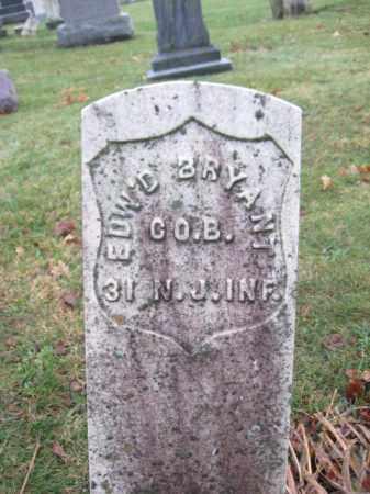 BRYANT, EDWARD - Hunterdon County, New Jersey | EDWARD BRYANT - New Jersey Gravestone Photos