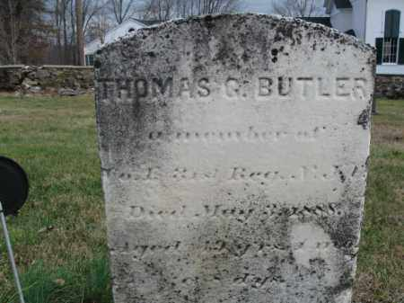 BUTLER, THOMAS G. - Hunterdon County, New Jersey   THOMAS G. BUTLER - New Jersey Gravestone Photos