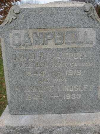 CAMPBELL, DAVID K. - Hunterdon County, New Jersey   DAVID K. CAMPBELL - New Jersey Gravestone Photos
