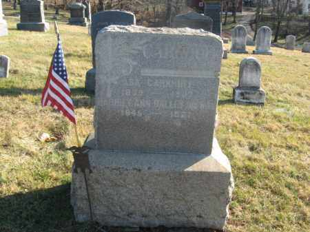 CARKHUFF, ASA - Hunterdon County, New Jersey | ASA CARKHUFF - New Jersey Gravestone Photos