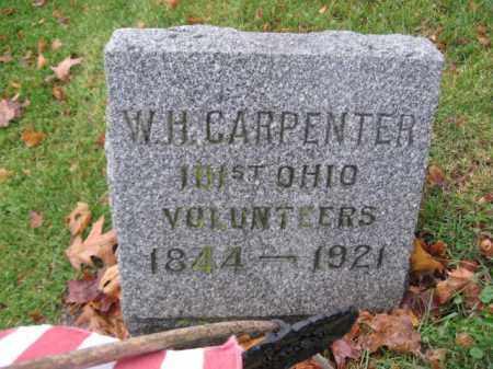 CARPENTER, WILLIAM H. - Hunterdon County, New Jersey | WILLIAM H. CARPENTER - New Jersey Gravestone Photos