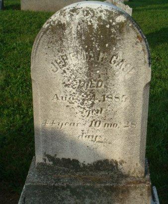 CASE, JEREMIAH - Hunterdon County, New Jersey | JEREMIAH CASE - New Jersey Gravestone Photos