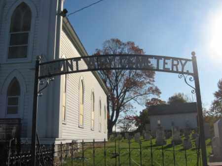 CEMETERY ENTRANCE, MOUNT AIRY - Hunterdon County, New Jersey | MOUNT AIRY CEMETERY ENTRANCE - New Jersey Gravestone Photos