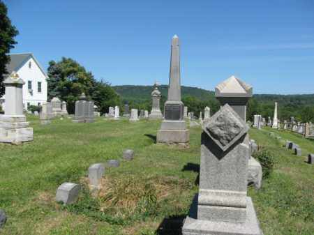CEMETERY VIEW, UNION - Hunterdon County, New Jersey | UNION CEMETERY VIEW - New Jersey Gravestone Photos
