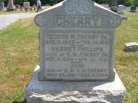 CHERRY,SR., (CW), GEORGE W. - Hunterdon County, New Jersey | GEORGE W. CHERRY,SR., (CW) - New Jersey Gravestone Photos