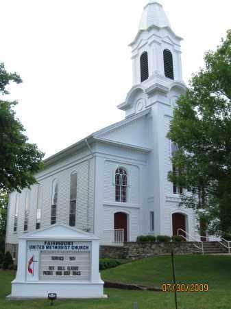 CHURCH CEM., FAIRMOUNT METHODIST - Hunterdon County, New Jersey | FAIRMOUNT METHODIST CHURCH CEM. - New Jersey Gravestone Photos