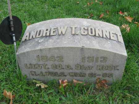 CONNET, ANDREW T. - Hunterdon County, New Jersey | ANDREW T. CONNET - New Jersey Gravestone Photos