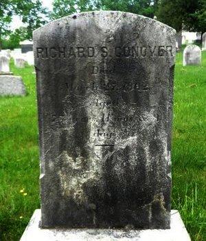 CONOVER, RICHARD S. - Hunterdon County, New Jersey | RICHARD S. CONOVER - New Jersey Gravestone Photos