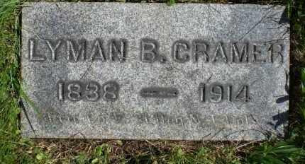 CRAMER, LYMAN B. - Hunterdon County, New Jersey | LYMAN B. CRAMER - New Jersey Gravestone Photos