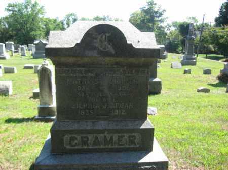 CRAMER, MATHIAS J. - Hunterdon County, New Jersey | MATHIAS J. CRAMER - New Jersey Gravestone Photos