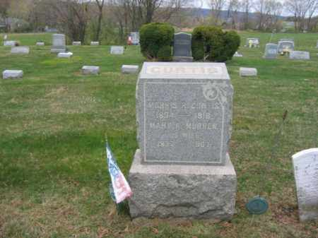 CURTIS, MORRIS R. - Hunterdon County, New Jersey   MORRIS R. CURTIS - New Jersey Gravestone Photos