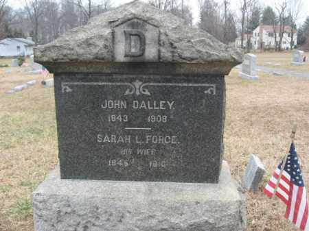 DALLEY, JOHN - Hunterdon County, New Jersey | JOHN DALLEY - New Jersey Gravestone Photos