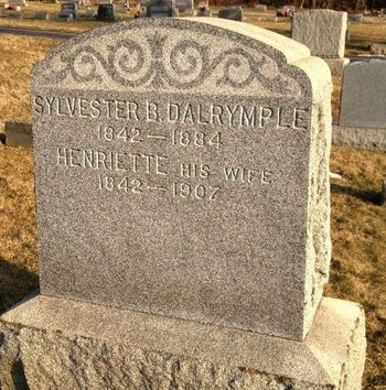 DALRYMPLE, SYLVESTER B. - Hunterdon County, New Jersey | SYLVESTER B. DALRYMPLE - New Jersey Gravestone Photos