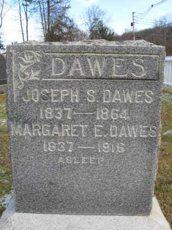 DAWES (DAWS), JOSEPH S. - Hunterdon County, New Jersey | JOSEPH S. DAWES (DAWS) - New Jersey Gravestone Photos