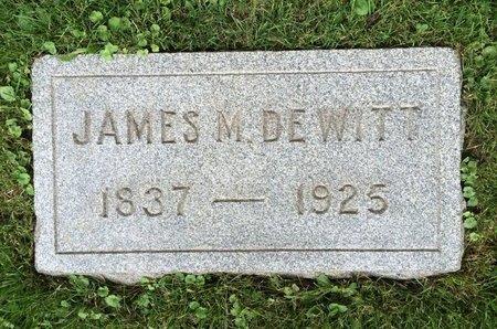 DE WITT, JAMES M. - Hunterdon County, New Jersey | JAMES M. DE WITT - New Jersey Gravestone Photos