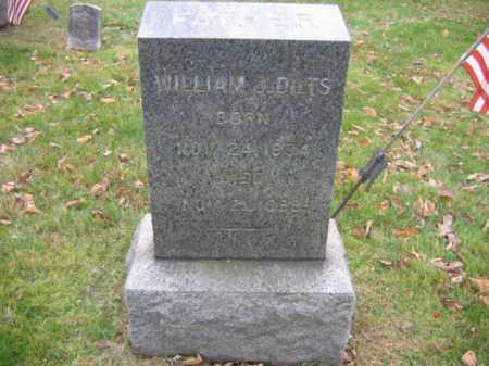DILTS, WILLIAM J. - Hunterdon County, New Jersey | WILLIAM J. DILTS - New Jersey Gravestone Photos