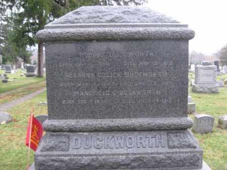 DUCKWORTH, ROBINS (REBAN P.) - Hunterdon County, New Jersey | ROBINS (REBAN P.) DUCKWORTH - New Jersey Gravestone Photos