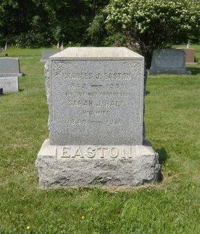 EASTON AKA  EAST, CHARLES J. - Hunterdon County, New Jersey | CHARLES J. EASTON AKA  EAST - New Jersey Gravestone Photos