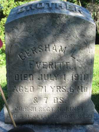 EVERITT, GERSHAM L. - Hunterdon County, New Jersey | GERSHAM L. EVERITT - New Jersey Gravestone Photos