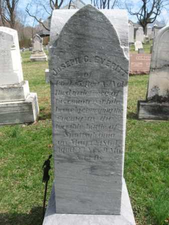 EVERITT, JOSEPH C. - Hunterdon County, New Jersey | JOSEPH C. EVERITT - New Jersey Gravestone Photos