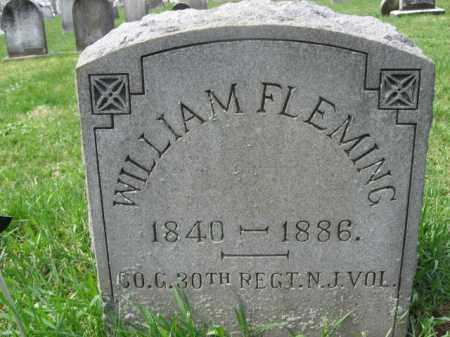 FLEMING, WILLIAM - Hunterdon County, New Jersey   WILLIAM FLEMING - New Jersey Gravestone Photos