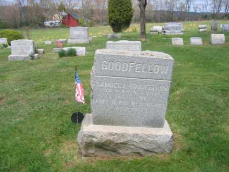 GOODFELLOW, SAMUEL L. - Hunterdon County, New Jersey | SAMUEL L. GOODFELLOW - New Jersey Gravestone Photos