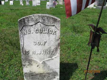 GULICK, WILLIAM - Hunterdon County, New Jersey | WILLIAM GULICK - New Jersey Gravestone Photos