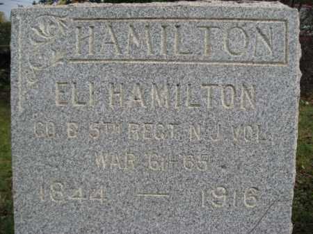 HAMILTON, ELI - Hunterdon County, New Jersey | ELI HAMILTON - New Jersey Gravestone Photos