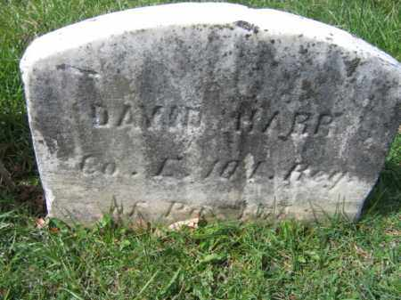 HARR, DAVID - Hunterdon County, New Jersey | DAVID HARR - New Jersey Gravestone Photos