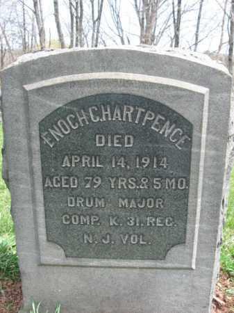 HARTPENCE, ENOCH C. - Hunterdon County, New Jersey | ENOCH C. HARTPENCE - New Jersey Gravestone Photos
