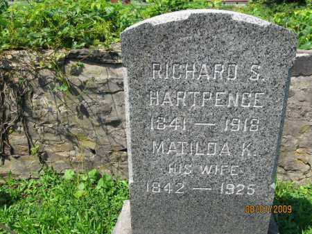 HARTPENCE, RICHARD S. - Hunterdon County, New Jersey | RICHARD S. HARTPENCE - New Jersey Gravestone Photos