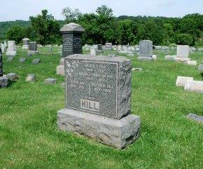 HILL, CALVIN H. - Hunterdon County, New Jersey   CALVIN H. HILL - New Jersey Gravestone Photos