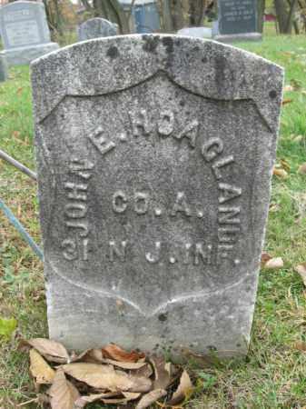 HOAGLAND, JOHN E. - Hunterdon County, New Jersey | JOHN E. HOAGLAND - New Jersey Gravestone Photos