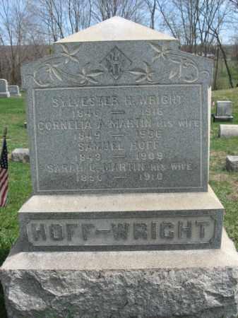 HOFF, SAMUEL - Hunterdon County, New Jersey | SAMUEL HOFF - New Jersey Gravestone Photos