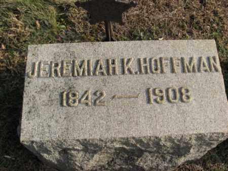 HOFFMAN, JEREMIAH - Hunterdon County, New Jersey   JEREMIAH HOFFMAN - New Jersey Gravestone Photos
