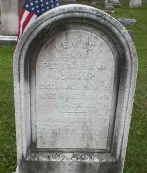 HOFFMAN, LEWIS - Hunterdon County, New Jersey   LEWIS HOFFMAN - New Jersey Gravestone Photos