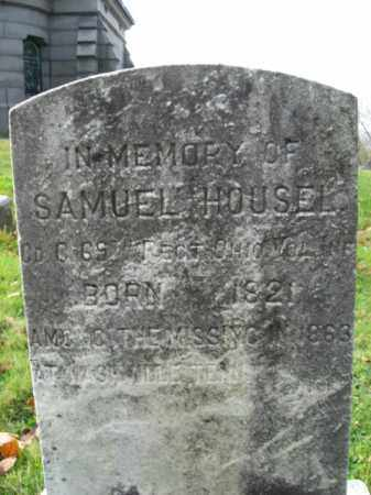HOUSEL, SAMUEL - Hunterdon County, New Jersey | SAMUEL HOUSEL - New Jersey Gravestone Photos
