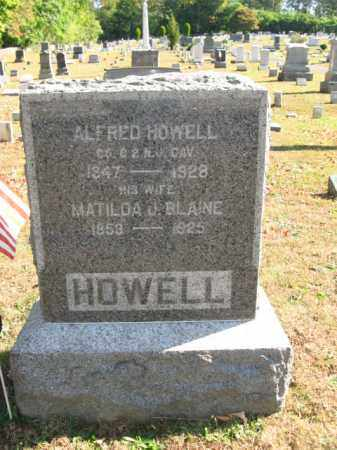 HOWELL, ALFRED - Hunterdon County, New Jersey | ALFRED HOWELL - New Jersey Gravestone Photos